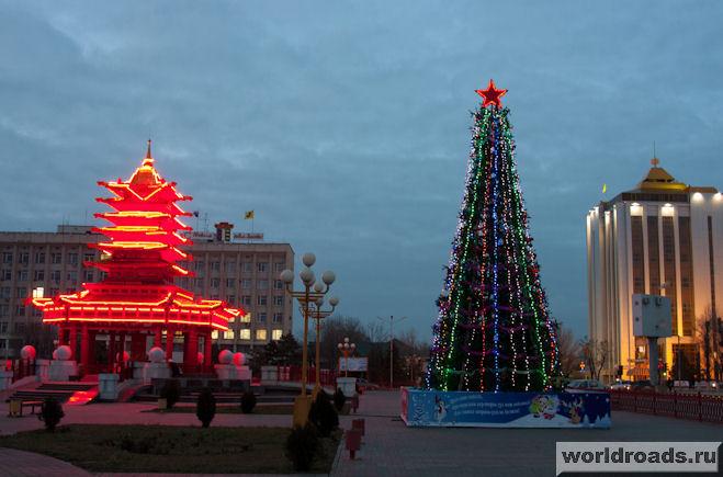 Новый год в Калмыкии