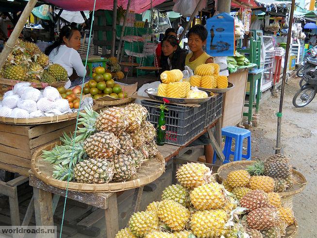Базары Мьянмы