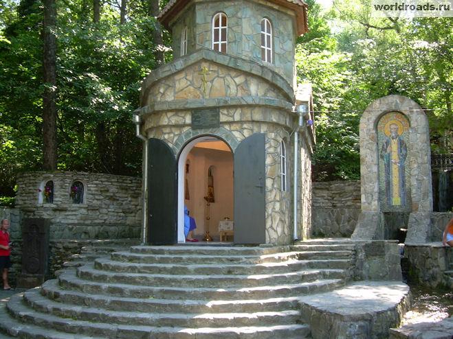 Часовня Сергия Радонежского Михайловский перевал