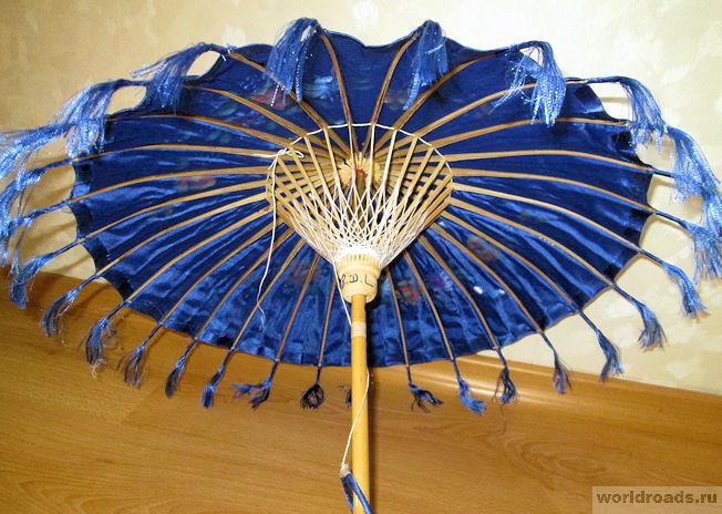Зонтик от солнца из Мьянмы