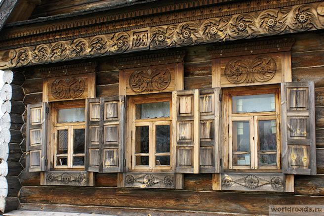Музей деревянного зодчества в Суздал