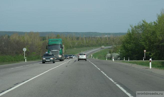 Дорога в Воронежской области