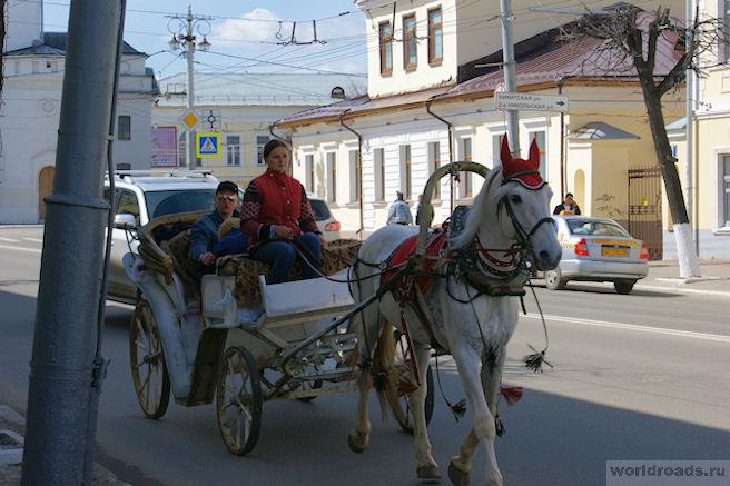 Извозчики во Владимире