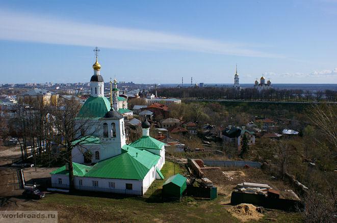 Спасо-Преображенская церковь Владимир