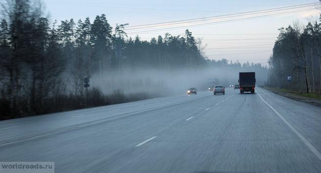 Туман во Владимирской области