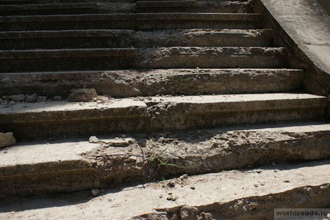 Каскадная лестница Кисловодск