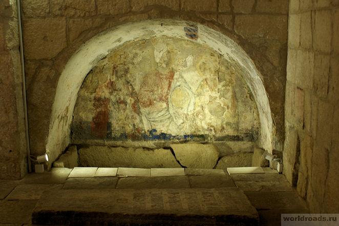 Фрески церкви Бориса и Глеба