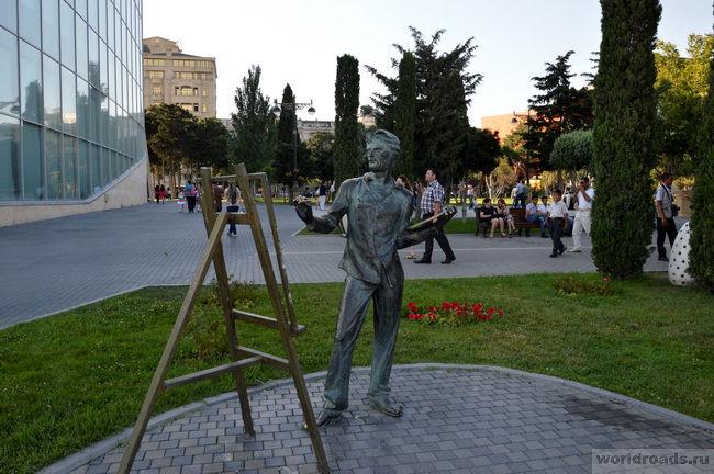 Набережная Баку