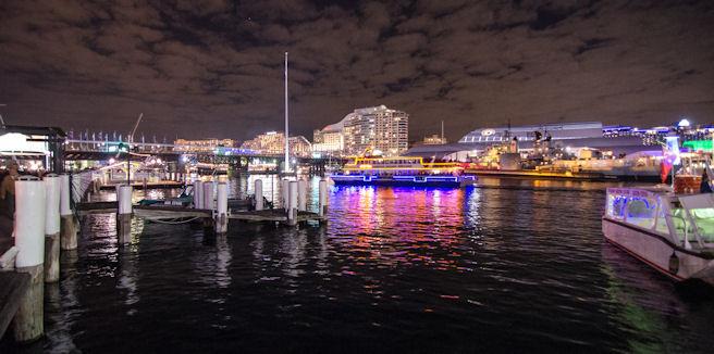Сидней ночью