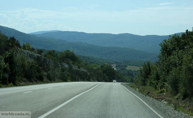 Дорога в Дивноморск