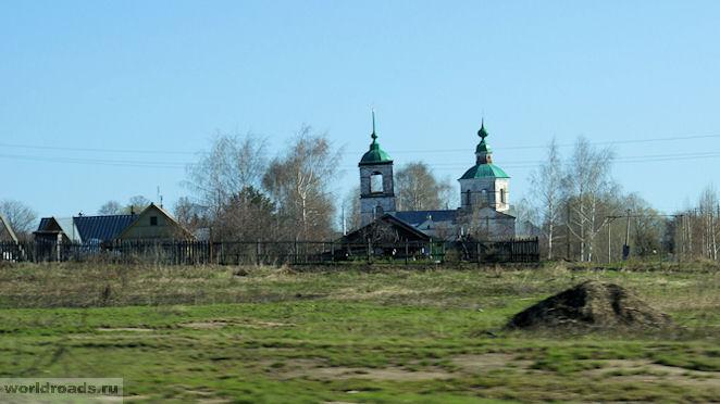 Церковь Иоанна Богослова Оликово