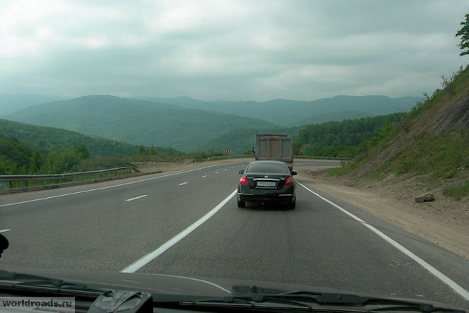 Перевал на трассе М4-Дон