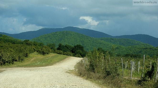 Дорога на Белые скалы