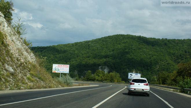 Дорога в Новомихайловку
