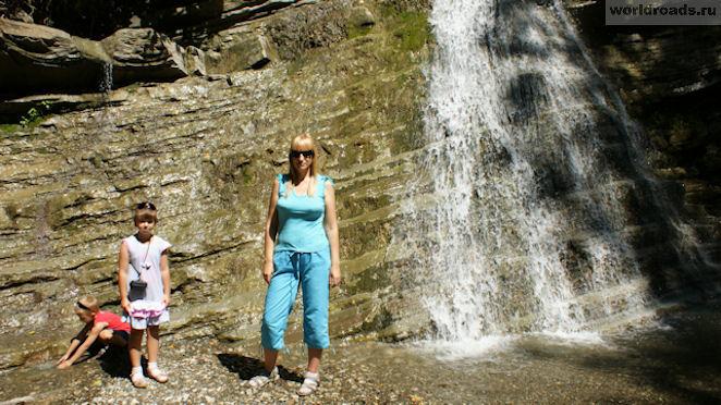 Водопад Фата невесты