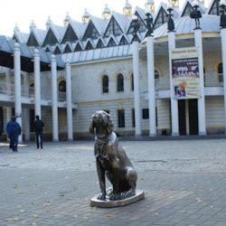 Необычные памятники Воронежа: памятник Биму