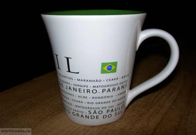 Кружка из Бразилии