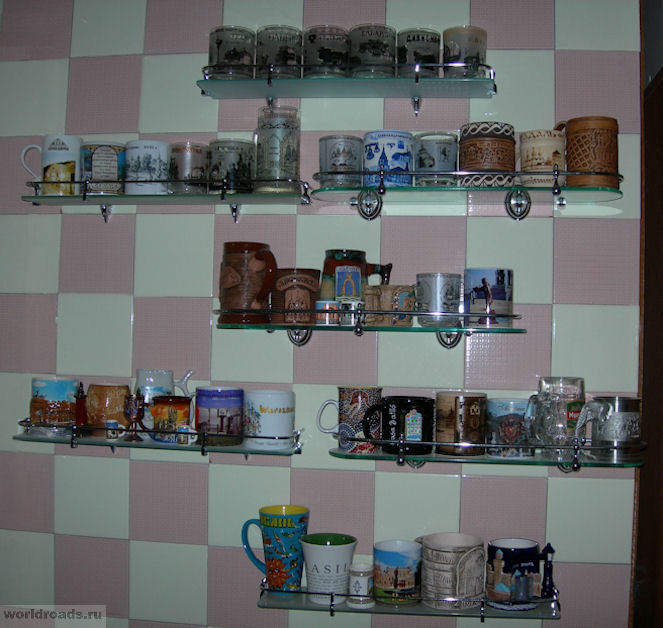 коллекция кружек