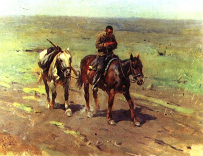 В отряд к Будённому
