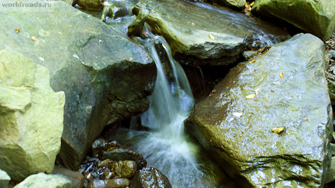 Псебенские водопады