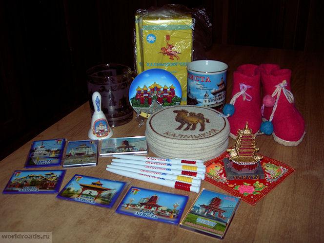 Калмыцкие сувениры