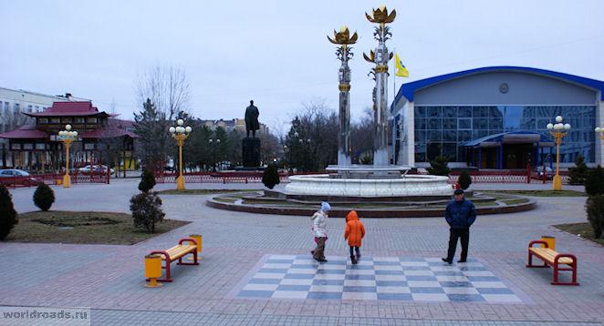 Шахматная доска Элиста