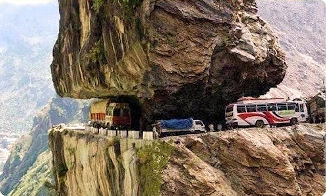 Дорога Исламабад-Скарду