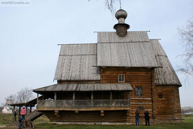 Никольская церковь в Суздале