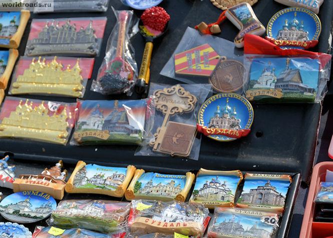 Суздальские сувениры
