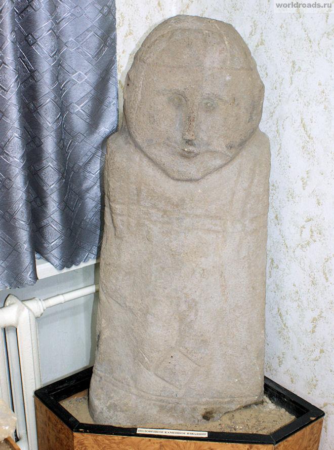 Половецкое каменное изваяние