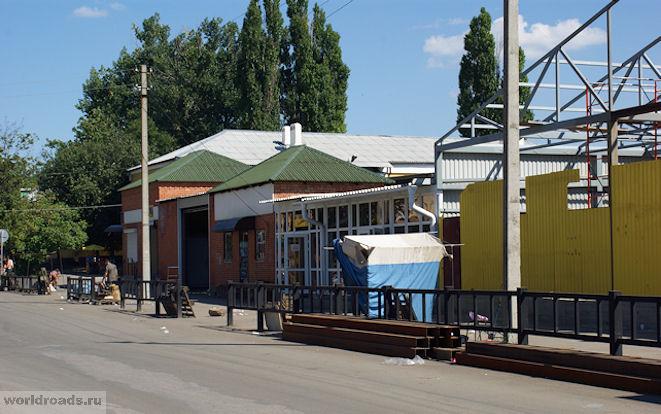 Гагаринский рынок города Гуково