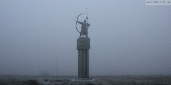 Памятник Хонгор Элиста