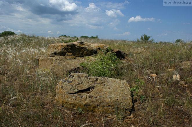 Камни в Красном Яру
