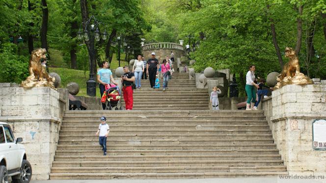 Железноводск лестница