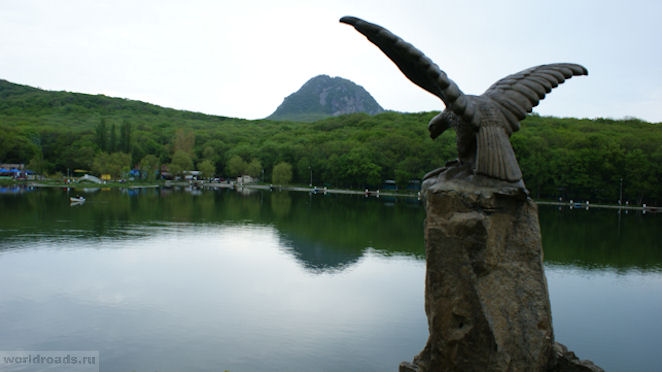 Курортное озеро Железноводск
