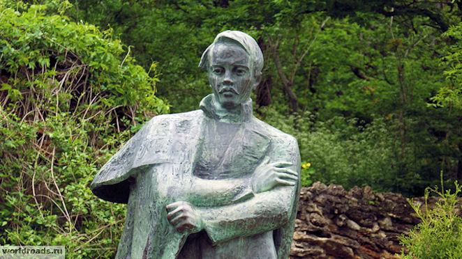 Памятник Лермонтову в Железноводске