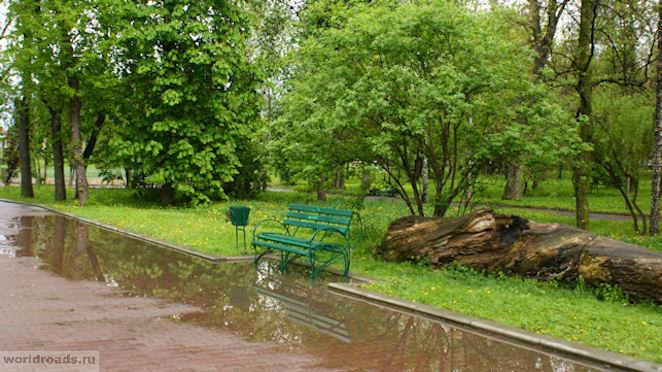 Курортный парк Ессентуки