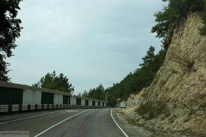 Дорога в Прасковеевку