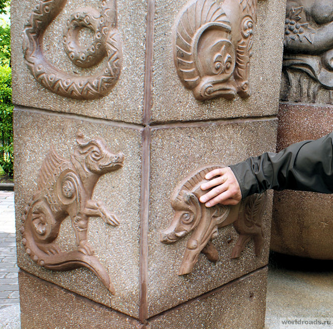 Скульптура Знаки Зодиака Железноводск