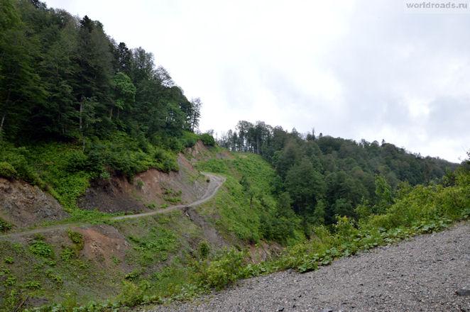 Дорога к Пшехскому водопаду