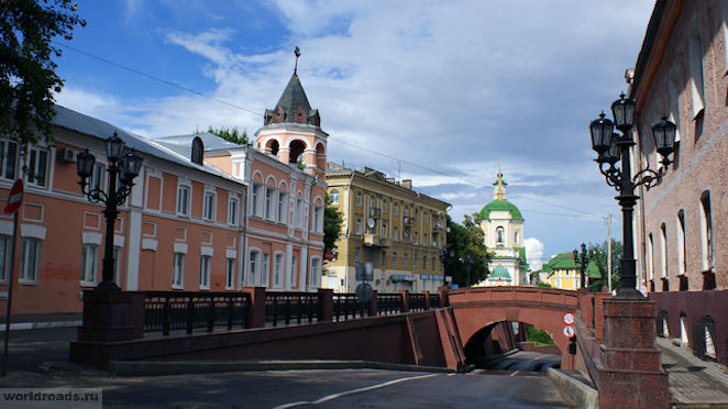 Каменный мост – одна из достопримечательностей Воронежа