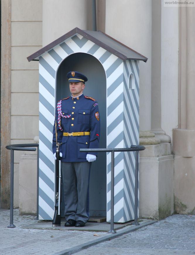 Почётный караул Прага