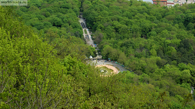 Каскадная лестница Железноводск
