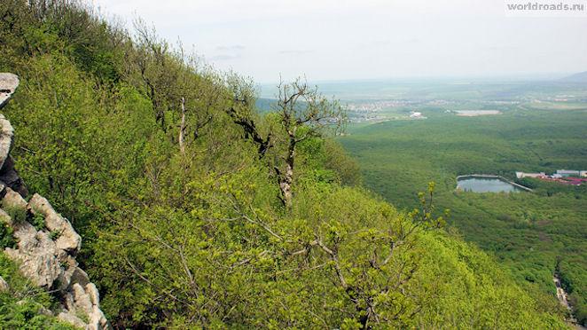 Курортное озеро Железноводска