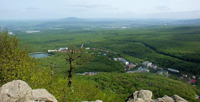 Железноводск с горы Железной