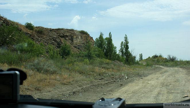 Дорога к Зайцевским скалам