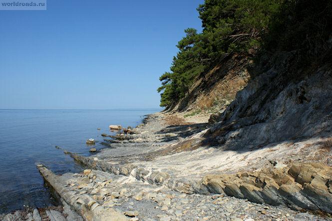 Ольгинка дикий пляж