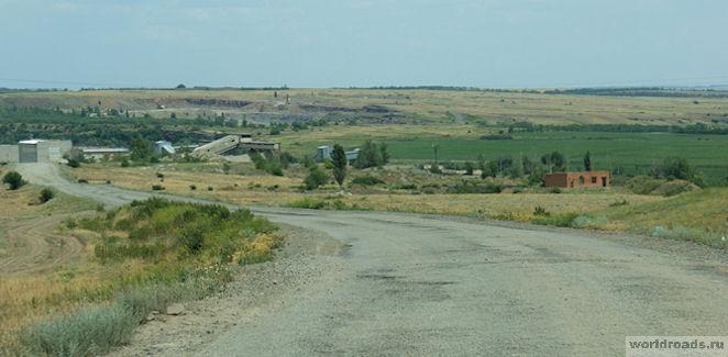 Дорога на Зайцевские скалы