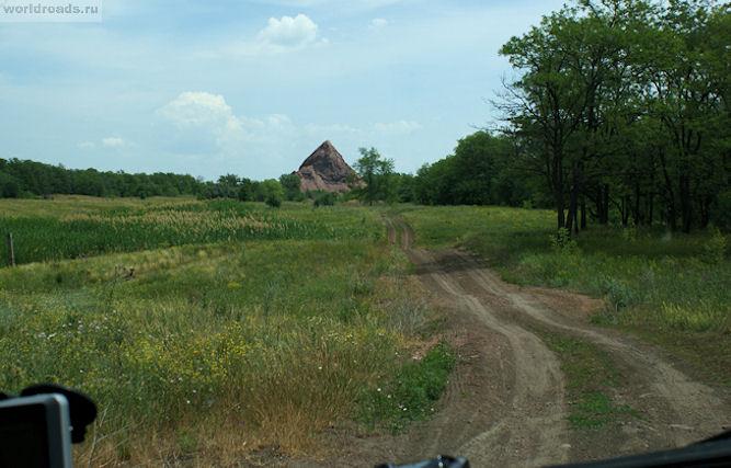 Терриконы Ростовской области