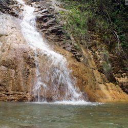 Тешебские водопады: водопад Шнурок
